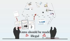 Gun companies should/should not be held responsible for gun