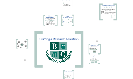 Cypress Hills - Crafting A Research Question