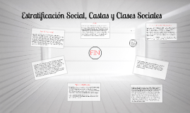 Copy of Estratificación Social, Castas y Clases Sociales