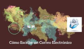 Cómo Escribe un Correo Electronico