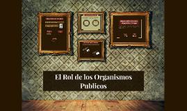 Rol de los Organismos Publicos