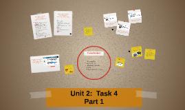 Unit 2:  Task 4