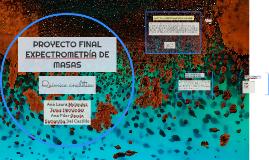 ESPECTROMETRÍA DE MASAS