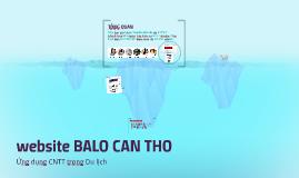 website BALO CAN THO