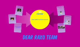 Dear RAXO Team