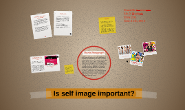Is self image important?