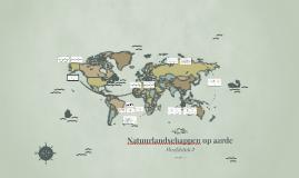Copy of 1TH H2 Natuurlandschappen op aarde
