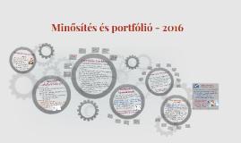 Copy of Minősítés és portfólió - 2016
