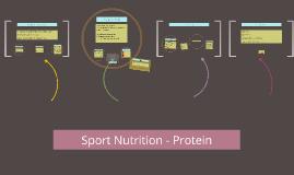 Sport Nutrition - Protein
