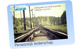 Covey Persoonlijk leiderschap
