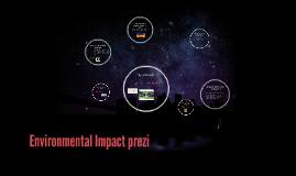 enviromental impact prezi