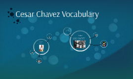Cesar Chavez Vocabulary