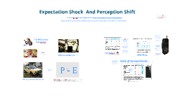 Expectation Shock and Perception Shift
