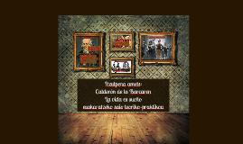Copy of Itzulpena amets: Calderón de la Barcaren Bizitza amets euskaratzeko saio teoriko-praktikoa