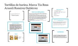 Copy of Tortillas de harina, marca Tía Rosa