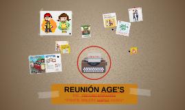 REUNIÓN AGE'S