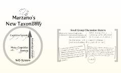 Marzano's New Taxonomy