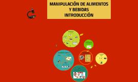 Copy of MANIPULACIÓN DE ALIMENTOS Y BEBIDAS