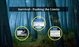 Survival - Pushing the Limits