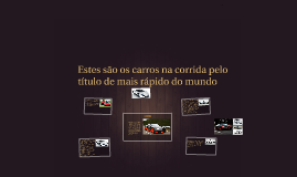 Copy of DESPORTO PERIGOSO CARROS