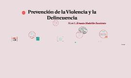 Prevención de la Violencia y la Delincuencia