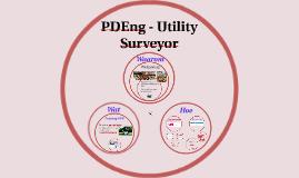 PDEng - Utility Surveyor