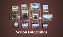 Sesión Fotográfica