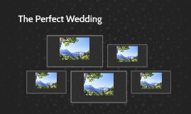 The Perfect Wedding