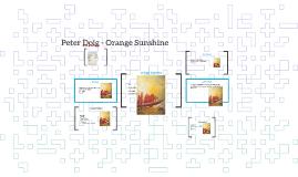Peter Doig - Orange Sunshine