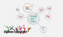 Allgemeine Trainingslehre & Superkompensation