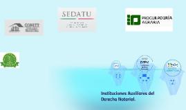 Instituciones Auxiliares del Derecho Notarial
