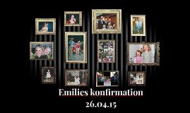 Emilies konfirmation