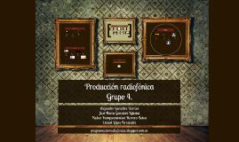 Producción radiofónica