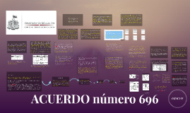 Copy of ACUERDO número 696