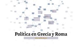 Política en Grecia y Roma