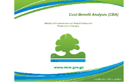 Cost Benefit Analyses