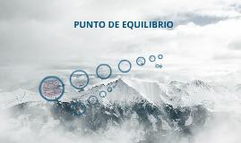 Copy of Punto de Equilibrio
