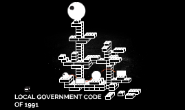 LOCAL GOVERNMENT CODE OF 1991