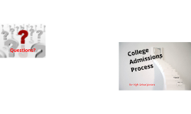 Copy of College Admissions Process