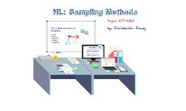 IBDP Business and Management HL: Sampling Methods