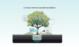 La nueva macroeconomía neoclásica