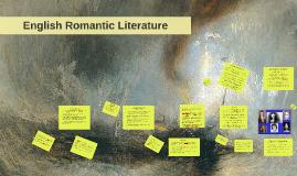 English Romantic Literature