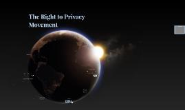 The Privacy Movement