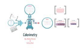Copy of Calorimetry