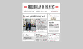 Religion in the Law