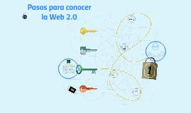Pasos para conocer la Web 2.0 v2