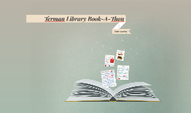 Terman Library Book-A-Thon Record Form Dates