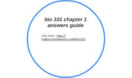 bio100 midterm study guide