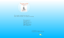 Copy of Teaching writing skills