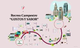 """Copy of Recreo Campestre """"GUSTOS Y SABOR"""""""
